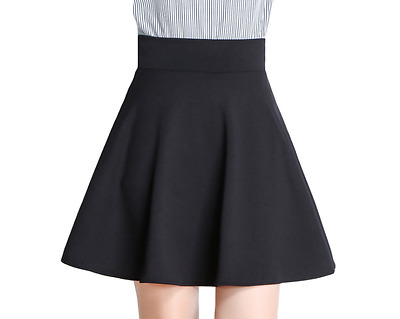Beautiful women's bust skirt pleated skirt color proof sneaked away