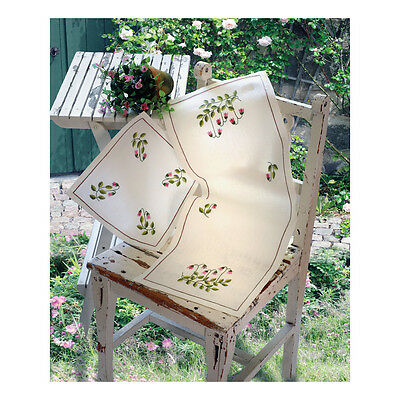 ANCHOR   Embroidery Kit: Twin Flower - Tablecloth   92400003333