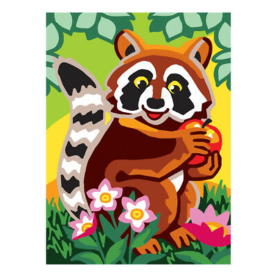 COLLECTION D'ART | Printed Canvas: Raccoon |CD6306