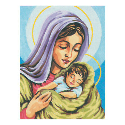 COLLECTION D'ART | Printed Canvas: Madonna and Child A |CD6067
