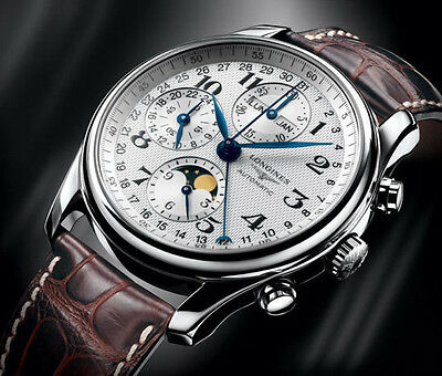 Longines Master Collection Moon Phase Automatic Herren Chronograph L2.673.4 OVP