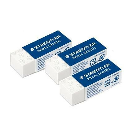 Staedtler 52653Abk3D 0210617 Conf. 3 Gomme Cancellatura Mars Plastic 40X19X13 Mm