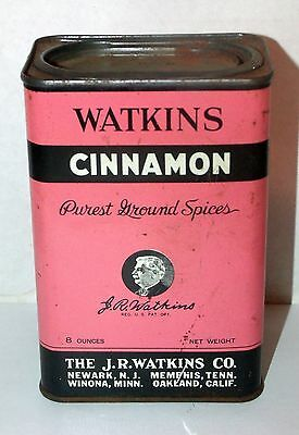 Vintage Watkins Cinnamon Country Store Advertising Container