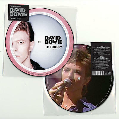 "DAVID BOWIE 'HEROES' 7"" VINYL Picture Disc (2017)"