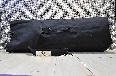 British Army Style Kitbag / Duffle / Shoulder Bag - BLACK - NEW