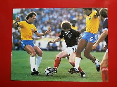 FOOTBALL repro PHOTO STRACHAN FALCAO CEREZO COUPE DU MONDE 1982 Format 23/30
