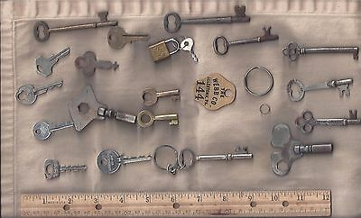 Keys, Antique & Steam Punk, Collectibles, Jewelry Parts