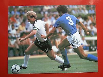 FOOTBALL repro PHOTO BERGOMI et RUMMENIGGE COUPE DU MONDE 1982 Fprmat 23/30