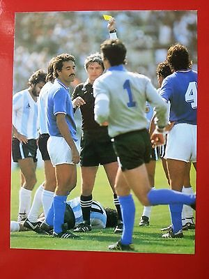FOOTBALL repro PHOTO MARADONA ZOFF GENTILE COUPE DU MONDE 1982 Format 23/30