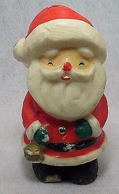 "Vintage 8"" Sweet Happy Laughing Santa Claus St Nick Christmas Christmas Candle"