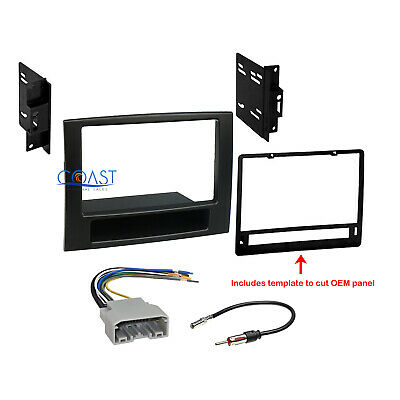 CAR Radio Stereo Double DIN Dash Kit Wire Harness for 2006 ... on