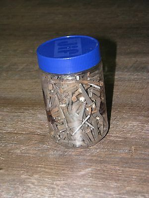 "Antique"" Square Steel Cut Nails 3 POUNDS ASSORTED 1 1/2"" & 2 1/2"""