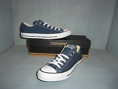 Men s CONVERSE CHUCK TAYLOR ALL STAR OX Low Navy Blue NIB New SIZES!  M9697 5c5b54c7b