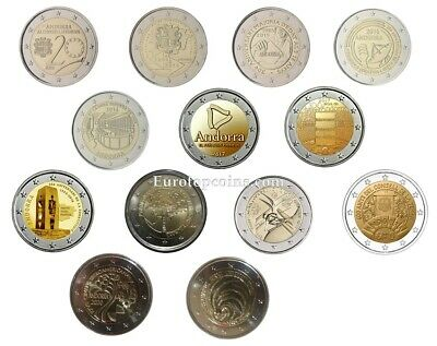 #Rm# 2 Euro Commemorative Andorra (2014-2019) All Pieces - Please Choose