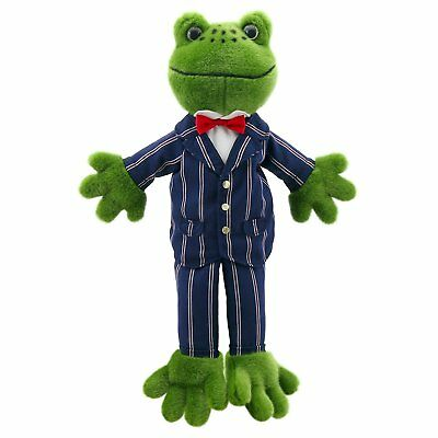Hand Puppet - Dressed Animals - Frog New Soft Doll Plush PC009903