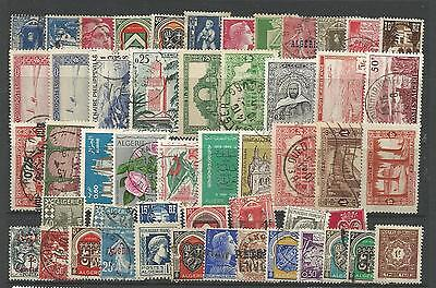 ALGERIA STAMP COLLECTION & PACKET of 50 DIFFERENT Used Stamps NICE SELECTION