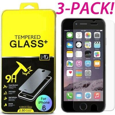 9H Real Tempered Glass Protective Film Screen Protector For Apple iPhone 7 8 6 +