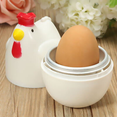 Portable Mini Microwave Egg Cooker Kitchen Cooking Boiler Hard Mold Poacher Tool