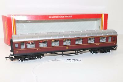 Hornby OO 1:76 R.474 L.M.S Maroon Composite Passenger Coach FNQHobbys SW904