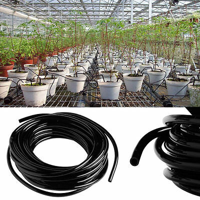 PVC 5M/10M/20M Watering Tubing Hose Pipe Micro 4/7mm For Drip Irrigation System
