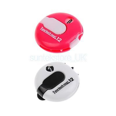 2Pcs Golf One Reset Counter Clip On Golf Stroke Score Counter