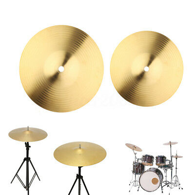 8'' 10'' Golden Brass Cymbal For Stand Drummer Drum Instrument Kit