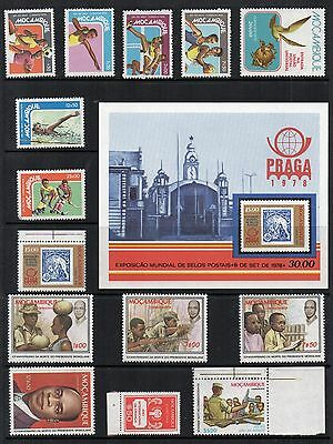 MOZAMBIQUE 1976-79 Stamp Collection UNMOUNTED MINT Re:QG398
