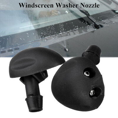 2x Front Windshield Washer Jet Nozzle Water Spray For Renault Megane MK1 Scenic