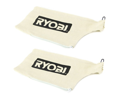 Ryobi TS1142L Compound Miter Saw 2 Pack Replacement Dust Bag W/Wire 089240003084