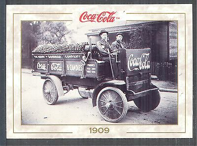 Year 1909: Rapid Motor Vehicle Coca-Cola Truck, 1993 Coca-Cola Series 1 Card #14