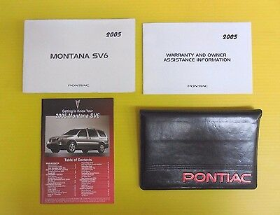 2005 pontiac montana owner s manual french 20 32 picclick rh picclick com repair manual 2005 pontiac montana sv6 Front Bumper for 2005 Pontiac Montana