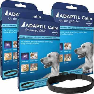 3 Pack ADAPTIL OnTheGo Collar for Dogs Large