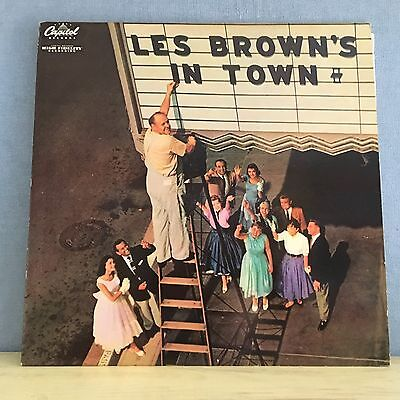 LES BROWN AND HIS BAND Les Brown's In Town USA Vinyl LP EXCELLENT CONDITION