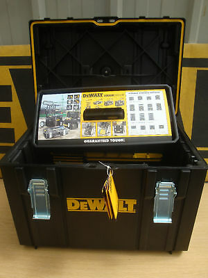 Dewalt Ds400 Tough System Storage Carrying Case + Tote Tray & Tool Rack 1 70 323