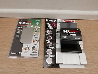 Trend Fast Track Diamond Sharpening Kit Fts/kit + Diamond Credit Card