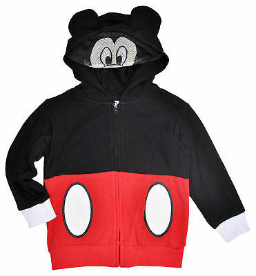 Disney Mickey Mouse Toddler Boys Costume Hoodie with Mask