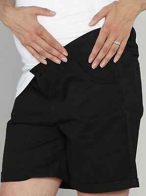 Casual Summer Cotton Shorts - Black