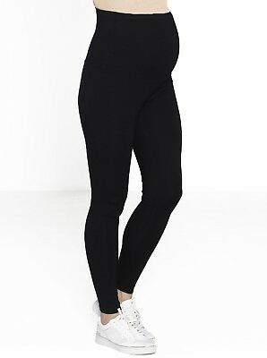 Maternity Deluxe Pull-On Winter Thick Tight Legging - Black #9080
