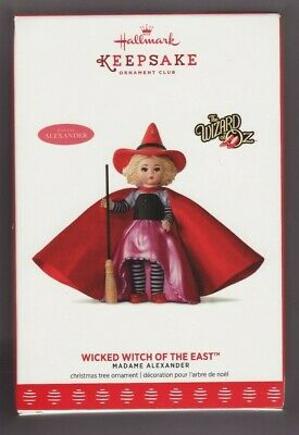 """2017  """"WICKED WITCH OF THE EAST""""  Hallmark  """"KOC EXCLUSIVE""""  Keepsake Ornament"""