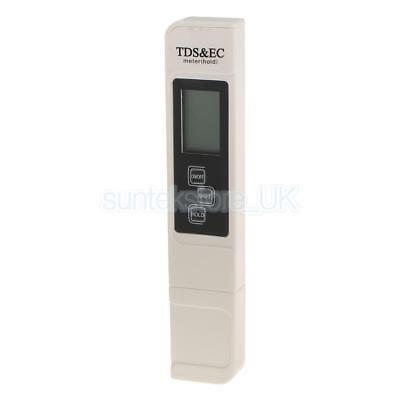 Digital PH Meter TDS EC Water Purity PPM Filter Hydroponic Pool Tester Pen