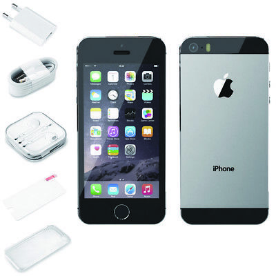Apple iPhone 5s 16GB / 32GB Factory Unlocked Mobile Smart Phone SILVER GOLD GRAY