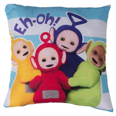 TELETUBBIES Game Time Decorative Cushion Square Children 40 x 40 TinkyWinky NEW
