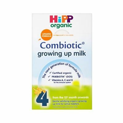 Hipp Organic Combiotic Growing Up Milk Powder 12mth+ Stage 4 (600g)