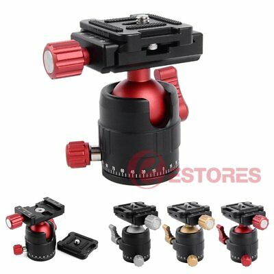 MT-01 360° Panoramic Rotator Ball Head w/QR Plate For DSLR Camera Tripod Head