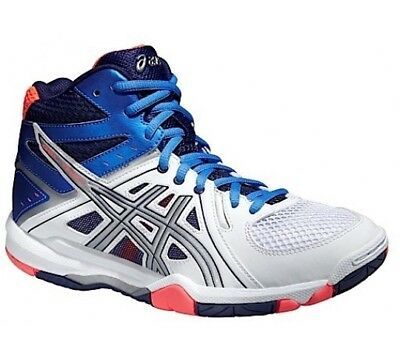 Womens Girls ASICS Gel Task MT Trainers Shoes Size UK 3 Indoor court Volleyball
