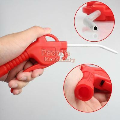 Air Line Blow Off Dust Gun Duster Blower Cleaning Safety Metal Nozzle Handy Tool