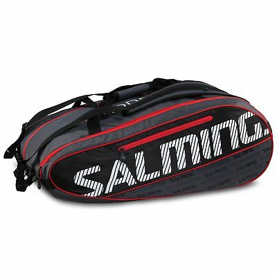 Salming Pro Tour Squash Training Racquet Practice 12 Racket Bag