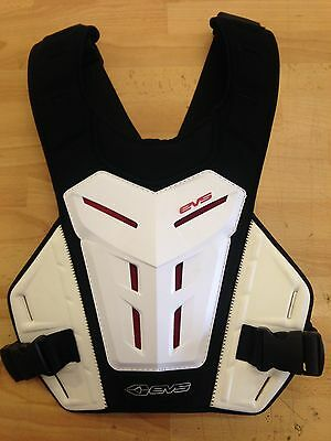 Evs Revolution Revo 4 White Mx Childrens Youth Kids Body Armour Roost Guard