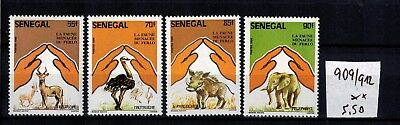 SENEGAL 909 - 912 **   Wildtiere