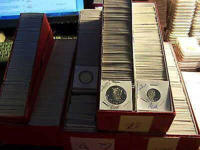 10 Proof Coin Lot#01-No Pennies-From  Hoard Of Boxes From An Elderly Collector
